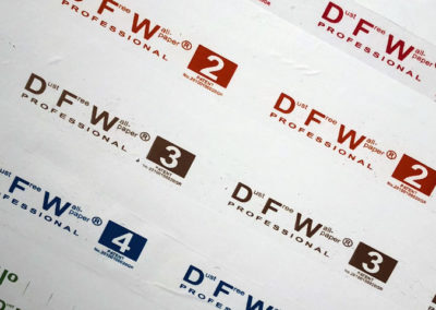 DFW Spray Booth Protection Film